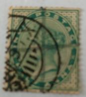India Inde Victoria Used Stamp..   Anna ...India Postage - India (...-1947)
