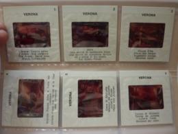 """Souvenir """"VERONA 12 COLOR  Slides On  KODAK FILM""""  Anni '60 - Diapositive"""