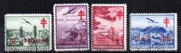 Serie   Nº A-16A/D  Yugoslavia - Aéreo