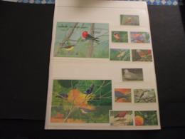 GRENADINES ST. VINCENT - 1990  UCCELLI 5 + 5 VALORI + 2 BF - NUOVI(++) - St.Vincent E Grenadine