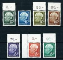 Alemania Federal Nº 125A/8B Nuevo Cat.55€ - Unused Stamps