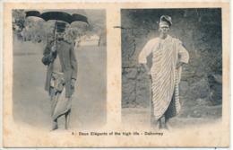 Cpa Afrique Dahomey Deux Élégants Of The High Life - Dahomey
