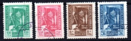 Serie   Nº 445/8   Yugoslavia - 1945-1992 República Federal Socialista De Yugoslavia