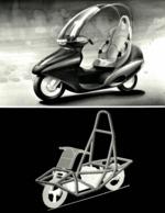 BMW DESIGN-STUDIE C1  DESIGN-STUDY C1 23*17cm+- Moto MOTOCROSS MOTORCYCLE Douglas J Jackson Archive Of Motorcycles - Photos