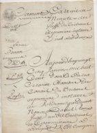 Acte Bordeaux 1812 De 6 Pages - Manuscrits