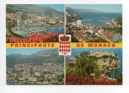 Monaco: La Piscine, Vue Generale, Vue Aerienne, Le Rocher (19-1664) - Monaco