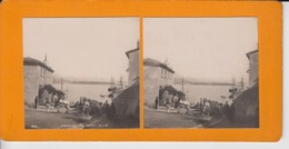 OLD STEREO CARD -  MONACO  HORSE TRANSPORT - ANIMATED - Monaco