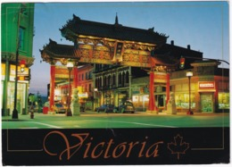 Victoria - Chinatown: Gate - Oldtimer Car 1930's - (B.C., Canada) - Victoria