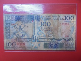 SOMALIE 100 SHILIN 1989 CIRCULER (B.7) - Somalia