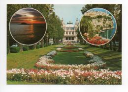 Monaco: Le Palais, Le Casino, Le Rocher, Coucher De Soleil (19-1665) - Monaco