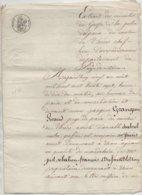 Thiers Péchadoires Puy De Dôme 1837 De 8 Pages - Manuscrits
