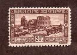 Tunisie  N°180 N* TB Cote 80 Euros !!! - Tunisie (1888-1955)