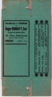 Boite Carton Pharmacie Herboristerie - Non Dépliée - Tisane - Pharmacie PFRIMMER BONNAFY - LIMOGES - Matériel Médical & Dentaire