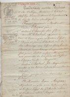 Thiers  Puy De Dôme Partage Donnation  Dont 2 Ruches à Miel Estimées 24 Francs 1832 De 16 Pages - Manuscrits