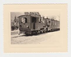 BB158 - PHOTO Du Passage D'un Beau Train Ancien Au Milieu Des Montagnes - Lieu à Identifier - Treni