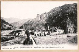 X06081 GUILLAUMES 1900s Village Vallée Du VAR Altitude 825 M Alpes Maritimes - GILETTA 1146 Etat PARFAIT - France