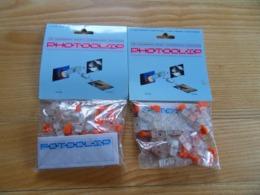 Pochettes X 2  De 100 Photoclips Permettant L Assemblage De Clichés Pour Présenter Un Panneau De Monrage Photos - Supplies And Equipment