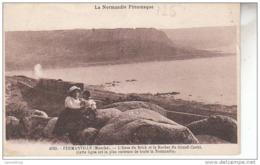 50 - FERMANVILLE / L'ANSE DE BRICK ET LE ROCHER DU GRAND CASTEL - Frankreich