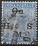 INDE  Anglaise    -   Timbre De Service  -   1883 .   Y&T N° 32 Oblitéré. - India (...-1947)