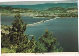 Kelowna - Floating Bridge Spans Okanagan Lake - (B.C., Canada) - Kelowna