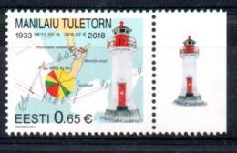 Estonia Eesti Lighthouse 2018 MNH - Estonia