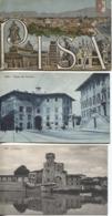 CPA - PISA - Vues De La Ville - Lot De 3 Cartes - Pisa