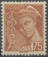 Type Mercure. 75c. Brun-rouge Neuf Luxe ** Y416A - Nuovi