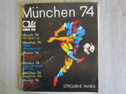 Album Panini Edizioni Modena Italy Munchen 74 Coupe Du Monde Allemagne Munich 1974 - Panini