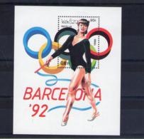 Laos. Bloc Feuillet. Jeux Olympiques De Barcelone. Gymnastique Rythmique Et Sportive - Laos