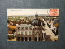 Frauenfeld Postgebäude 1906 (6082) - TG Thurgovie