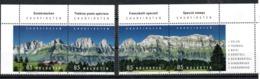 Switzerland Mountains 2017 MNH - Ungebraucht