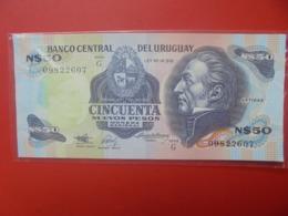 URUGUAY 50 PESOS 1988-89 PEU CIRCULER (B.7) - Uruguay