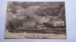 Carte Postale ( Y8 ) Ancienne De Amélie Les Bains , L Hopital Militaire - Otros Municipios