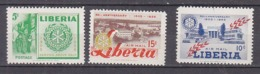 B0209 - LIBERIA Yv N°332 + AERIENNE ** ROTARY - Liberia