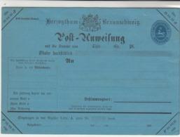 Brunswick / Post Office Stationery - Germany