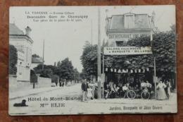 LA VARENNE (94) - AVENUE GILBERT - DESCENDRE GARE DE CHAMPIGNY - HOTEL DU MONT BLAN MAISON ELIE - Otros Municipios