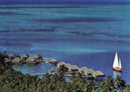1 AK Insel Bora Bora Mit Der Luxus Hotelanlage Nunue * Französisch Polynesien - French Polynesia * - Polinesia Francese