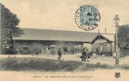 MONTPELLIER - Une Gare D'intérêt Local. - Montpellier