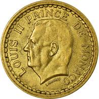 Monnaie, Monaco, Louis II, Franc, Undated (1943), SUP, Aluminum-Bronze - Mónaco