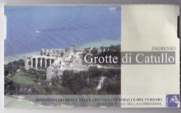 Italy, Area Archeologica Grotte Di Catullo , Museum Ticket , 2019 , Used - Tickets D'entrée