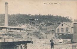 SAINT MARTIN DE VALGAGUES - MINES DE ST MARTIN - Francia
