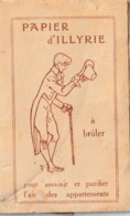 Petit Carnet De PAPIER D'ILLYRIE ( Pour Assainir Et Purifier L'air Des Appartements ) - Other