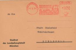 AFS 13b München Oktoberfest 1954 Bavaria Ringelspiel - BRD