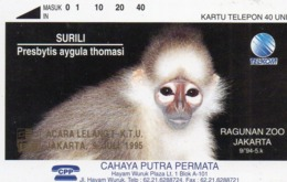 INDONESIA - TAMURA - CAHYA PUTRA PERMATA - OVERPRINTED 300ex - MINT SCARCE CARD RRRRRRR - Indonesia