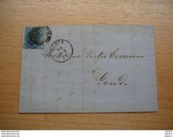 (12.09) BELGIE Omslag 1862 - 1849-1865 Médaillons (Autres)