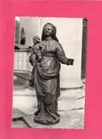 17 Charente Maritime, Brouage, Intérieur De L'Eglise, Ancienne Vierge De Bois Sculpté, (A. Gilbert) - Frankrijk