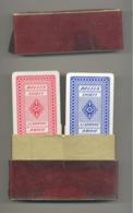 """Coffret Avec 2 Jeux De Cartes - Publicité DURY Products """" BELLIA """" Shirts - Cartes à Jouer (SL) - 54 Kaarten"""