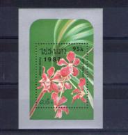Laos. Bloc Feuillet. Orchidées - Laos