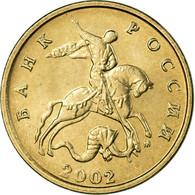 Monnaie, Russie, 5 Kopeks, 2002, Saint-Petersburg, SUP, Copper-Nickel Clad - Russie