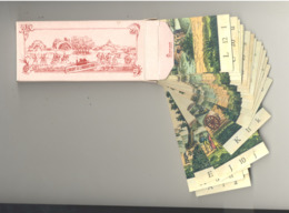 Jeu De 24 Cartes Pour Composer Une Multitude De Paysages - Explications Scan N° 2- Publicité: Credit à L'Industrie (SL) - Autres
